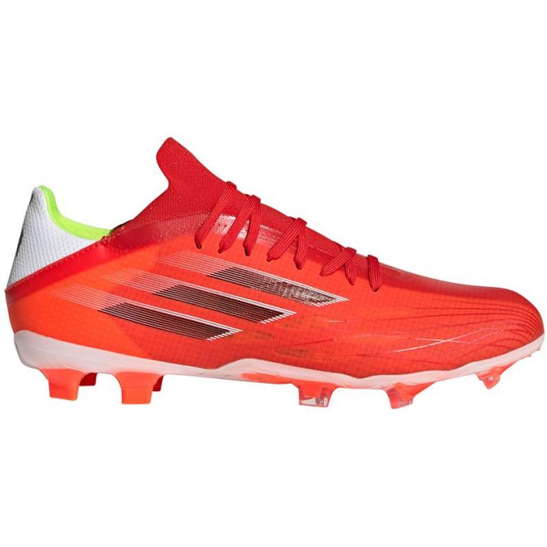 Buty piłkarskie adidas X Speedflow.2 Fg M FY3289 czerwone czerwone