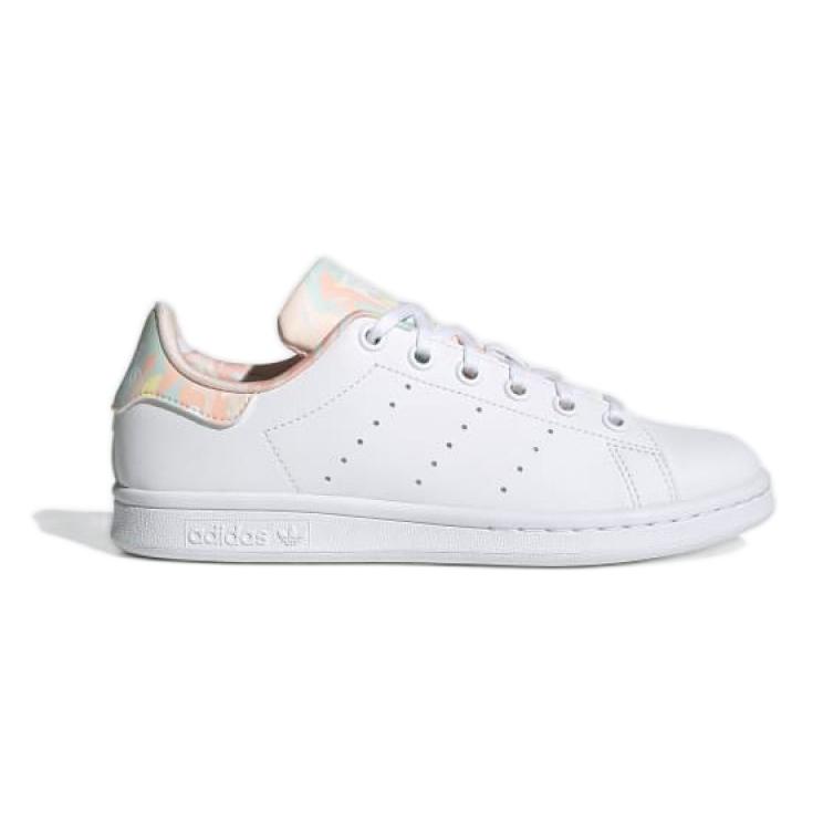 Buty adidas Stan Smith Jr GZ9915 białe granatowe