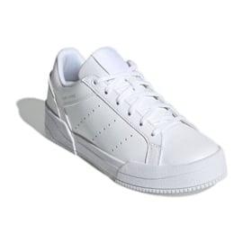 Buty adidas Court Tourino Jr H00764 białe granatowe