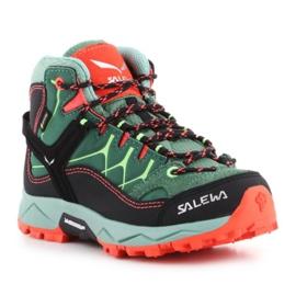 Buty trekkingowe Salewa Alp Trainer Mid Gtx Jr 64010-5960 zielone