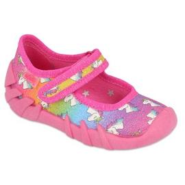Befado obuwie dziecięce speedy  109P232 różowe