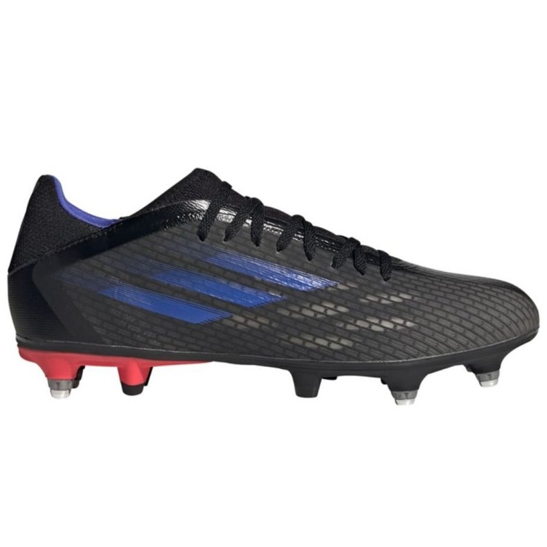 Buty piłkarskie adidas X Speedflow.3 Sg M GZ2840 wielokolorowe szare