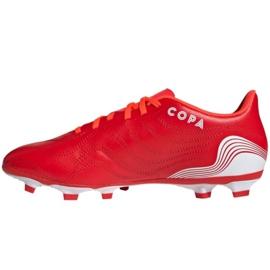 Buty piłkarskie adidas Copa Sense.4 FxG M FY6183 czerwone czerwone