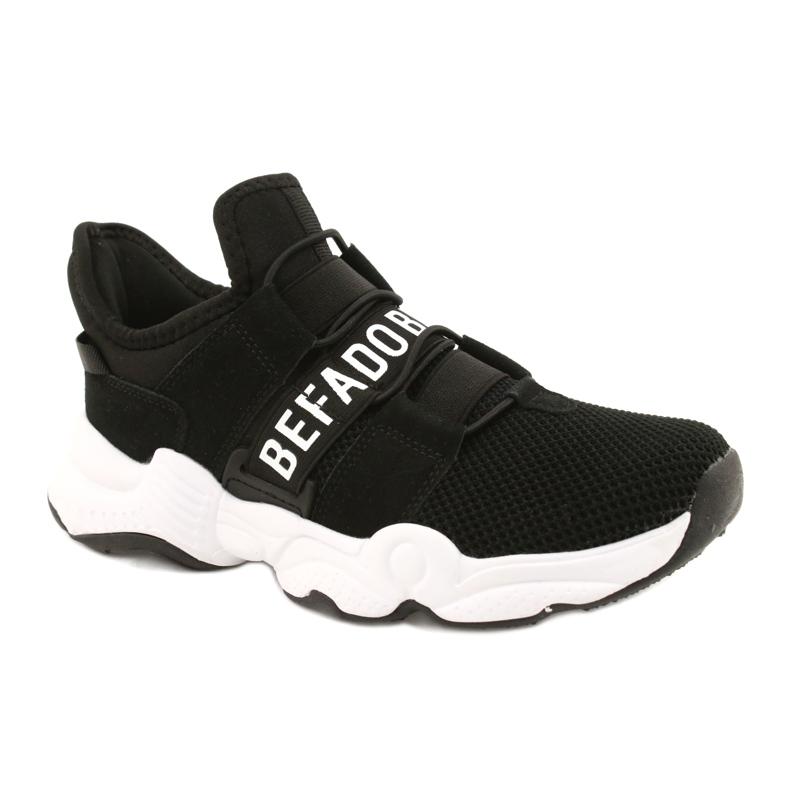 Befado obuwie dziecięce  516Y066 białe czarne