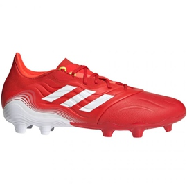 Buty piłkarskie adidas Copa Sense.2 Fg M FY6177 czerwone czerwone