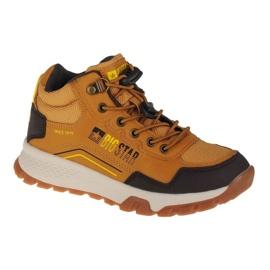 Buty Big Star Youth Shoes Jr II374054 brązowe różowe