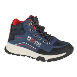 Buty Big Star Youth Shoes Jr II374055 granatowe różowe