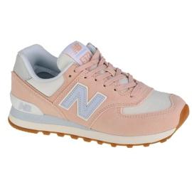 Buty New Balance W WL574NE2 różowe
