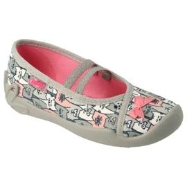 Befado obuwie dziecięce 116X297 szare