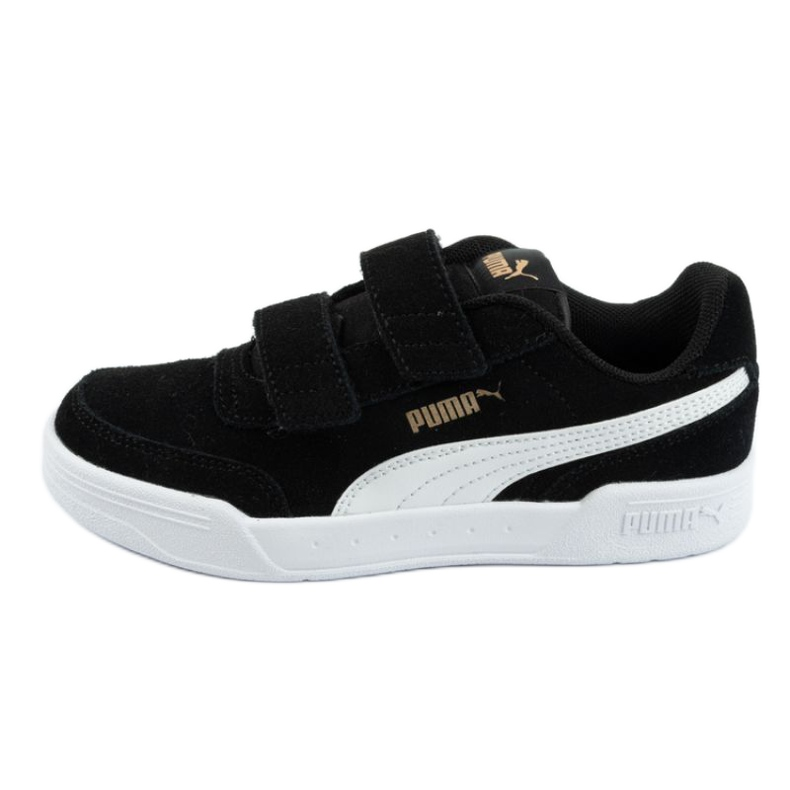 Buty Puma Caracal Jr 370991 01 czarne