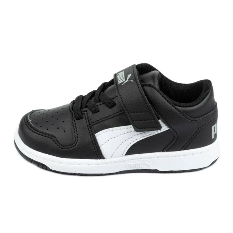 Buty Puma Rebound Jr 370493 02 czarne