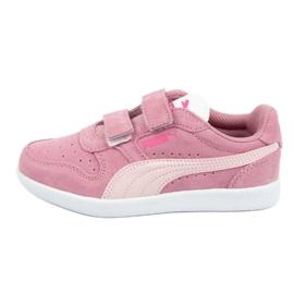 Buty Puma Icra Jr 360756 35 białe różowe
