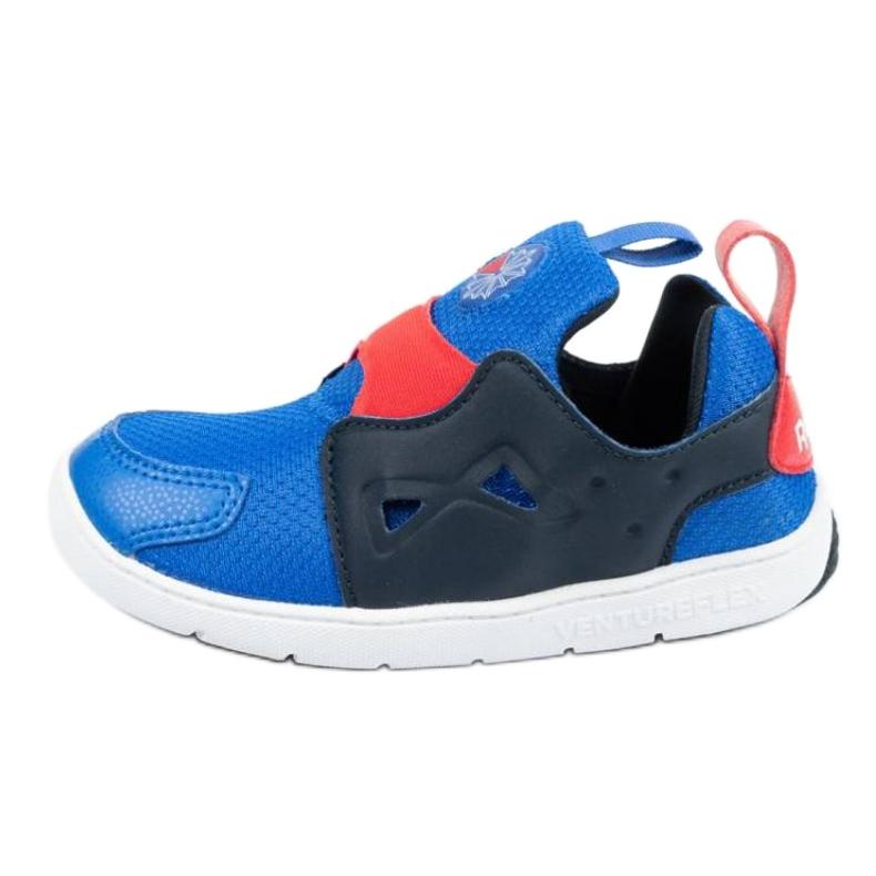 Buty Reebok Ventureflex Slip-on Jr CM9144 czarne niebieskie