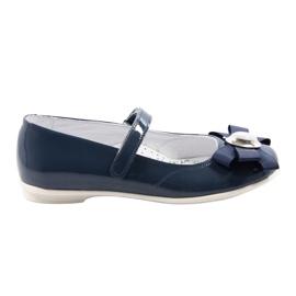 Balerinki buty dziecięce Bartek 45418 granatowe