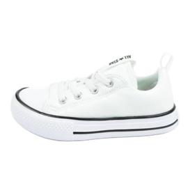 Trampki Converse Jr 763536C]18 białe