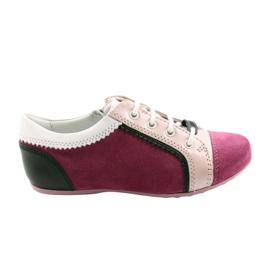Półbuty buty dziecięce Bartek 45293 różowe