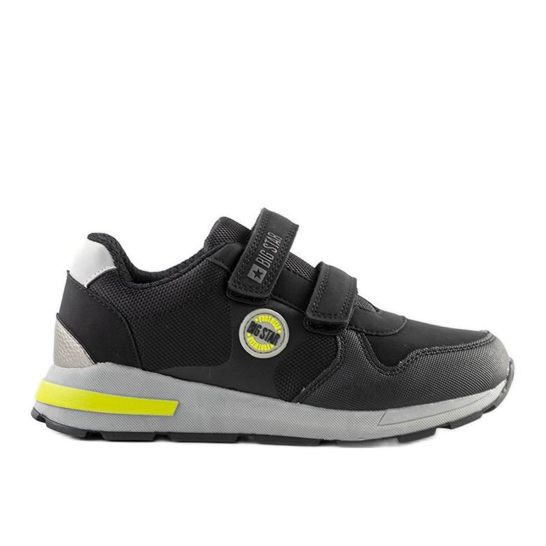 Big Star Czarne dziecięce sneakersy sportowe Astrid