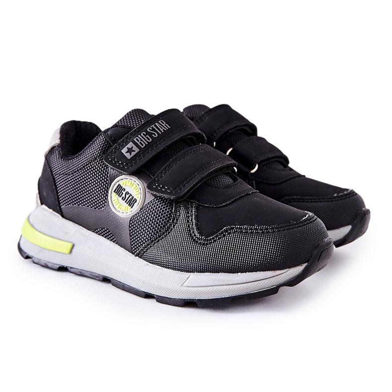 Dziecięce Buty Sportowe Big Star II374078 Czarne