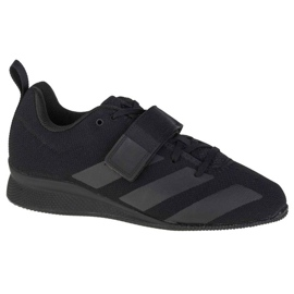 Buty Adidas Weightlifting Ii Jr F99816 czarne granatowe