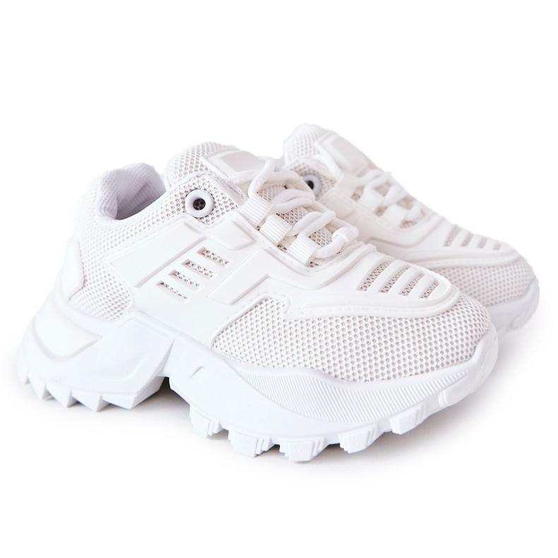 FR1 Dziecięce Sneakersy Białe Freak Out