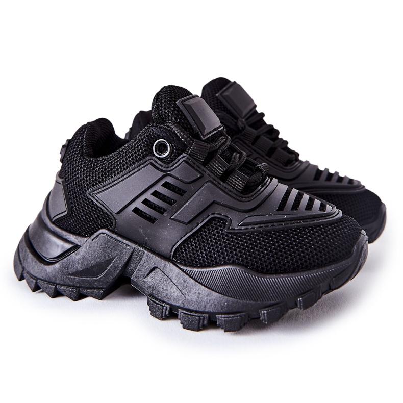 FR1 Dziecięce Sneakersy Czarne Freak Out