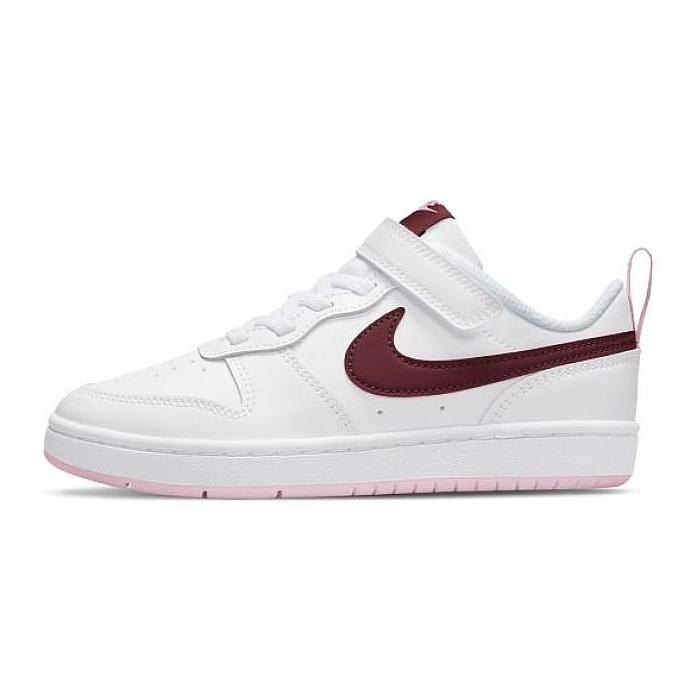 Buty Nike Court Borough Low 2 (PSV) BQ5451-120 białe czarne