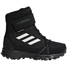 Buty adidas Terrex Snow Cf Cp Cw Jr S80885 czarne