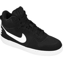 Buty Nike Sportswear Court Borough Mid Jr 839977-004 czarne