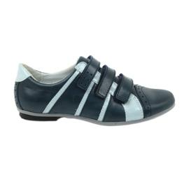 Buty dziecięce skórzane półbuty sportowe Mido
