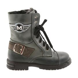 Kozaczki buty dziecięce Zarro 933 szare