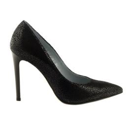 Czółenka buty damskie Anis 4381 czarne