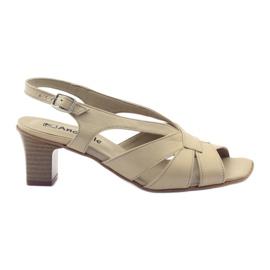 Sandały damskie Anabelle 152 beżowe beżowy