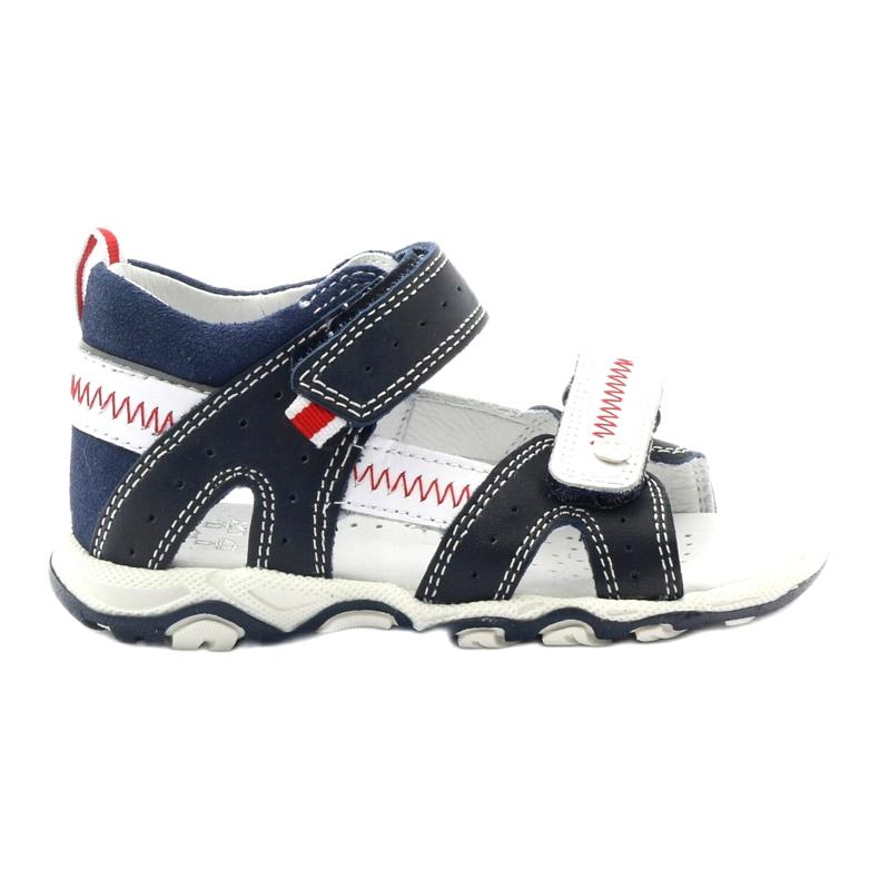 Sandałki chłopięce rzepy Bartek 81824 gr