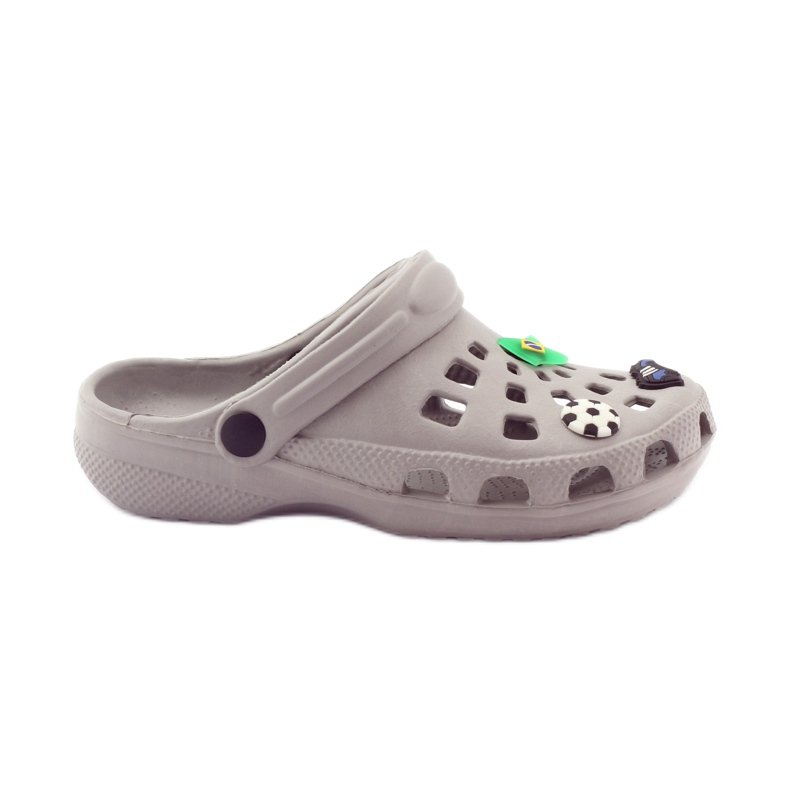 American Club Crocs klapki kroksy American-powystawowe zielone szare