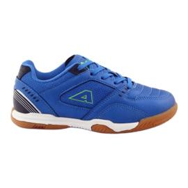 American Club ADI buty sportowe chłopięce halówka American 160706 niebieskie