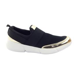 McKey Sportowe buty softshell czarne złote