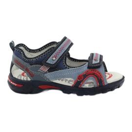 Sandałki chłopięce Bartek 19113 niebieskie