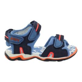 Sandałki sportowe chłopięce Bartek granat