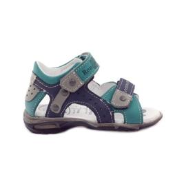 Sandałki chłopięce rzepy Ren But 1471 gr