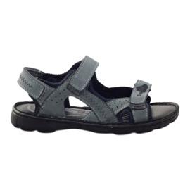 Sandałki elastyczne Ren But 4256 szary