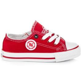 New Age Buty sportowe dla dzieci czerwone