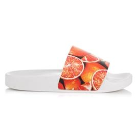 Vices Cytrusowe Klapki pomarańczowe