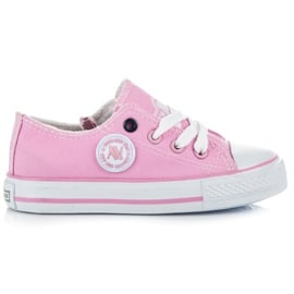 New Age Buty Sportowe Dla Dzieci różowe