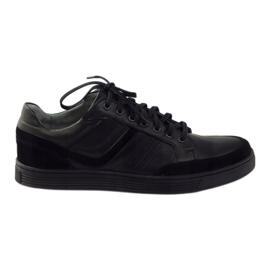 Riko buty męskie półbuty casual 828 czarne