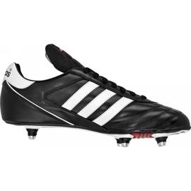 Buty piłkarskie adidas Kaiser 5 Cup Sg 033200 czarne czarne