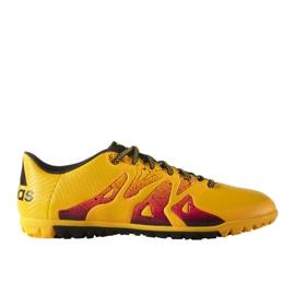 Buty piłkarskie adidas X 15.3 Tf M S74660 pomarańczowe pomarańczowe