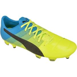Buty piłkarskie Puma evoPOWER 2.3 Fg M 10352801 wielokolorowe żółte