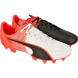 Buty piłkarskie Puma evoSPEED 3.4 Tricks Leather Fg M 10379401 wielokolorowe niebieski, biały, czarny