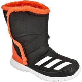 Buty zimowe adidas Lumilumi Jr AQ2604 czarne