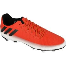 Buty piłkarskie adidas Messi 16.3 FG Jr BA9148 czerwone